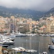 View of luxury yachts in harbor of Monte Carlo in Monaco — Stock Photo #13514240