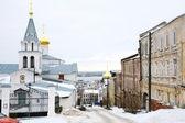 December view Church of Elijah the Prophet Nizhny Novgorod — Stock Photo