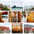 Collage of Beautiful Thailand - Stock Photo