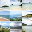 Collage of View Point  - Kata, Karon, Patong Beaches Thailand — Stock Photo