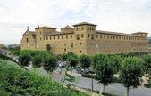 The King's Castle in Olite in Navarra, Spain — 图库照片