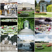 Collage of Vienna Austria — Stock Photo