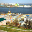 Spring in Nizhny Novgorod Russia — Stock Photo