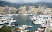 Panoramic view Monte Carlo Monaco — Stockfoto