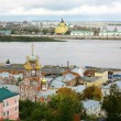September view of colorful autumn Nizhny Novgorod — Stock Photo #33576535