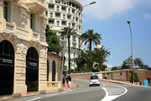 Avenue Princesse Alice Monaco Monte Carlo — Stock Photo