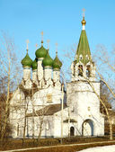 Church in honor Assumption of the Mother God Niznhy Novgorod Rus — Stock Photo