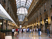 Galleria Vittorio Emanuele in Milan Itlay — Stock Photo