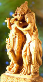 Statuette Krishna and Radha — Stock Photo