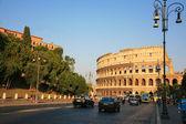 италия рим колизей вечером — Стоковое фото