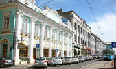 One of the oldest street in Nizhny Novgorod — Stock Photo