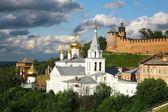 Church and Kremlin Nizhny Novgorod — Stock Photo