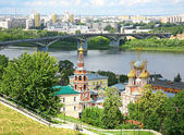 Summer Nizhny Novgorod — Stock Photo