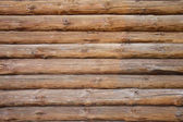 Horizontal wooden beam — Stock Photo