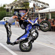 Stunt show — Stock Photo