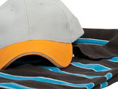 T shirt and cap — Stock Photo