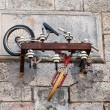 Bicycle abandoned — Stockfoto
