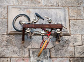 Bicycle abandoned — Foto de Stock
