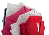 Colorful t shirts — Stock Photo