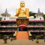 Golden Temple in Dambulla, Sri Lanka — Stock Photo