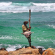 Fisherman in Sri Lanka — ストック写真