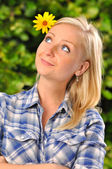 Young woman — Stock Photo