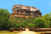 Famous Sigiriya rock. Sri Lanka — Stock Photo