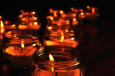 Candles for All Souls Day — Stock Photo
