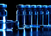 Vials of medications. — 图库照片