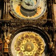Stock Photo: Historical, astronomical clock in the Old Town in Prague.
