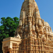 Kamasutra Temple in Khajuraho, India. — Foto Stock