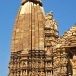 Kamasutra Temple in Khajuraho, India. - Stock Photo