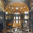 Hagia Sophia in Istanbul. — Stock Photo