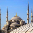 Blue Mosque (Sultanahmet Camii). - Stock Photo