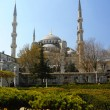 Blue Mosque (Sultanahmet Camii). — Stock Photo