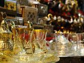 Tassen Tee in der Türkei. — Stockfoto