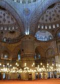 Sultanahmet Mosque (Blue Mosque). — Stock Photo