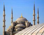 Blue Mosque (Sultanahmet Camii). — Stock Photo