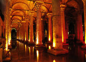 Basilica Cistern in Istanbul. — Stock Photo