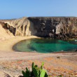 Stock Photo: Papagayo Beach, Lanzarote, Spain.