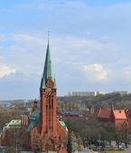 Bydgoszcz, město v polsku. — Stock fotografie