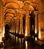 The Basilica Cistern in Istanbul. — Stock Photo