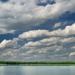 Lake with clouds — Stock Photo #46431035