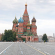Stock Photo: St. Basil's Cathedral on Red Square in Moscow