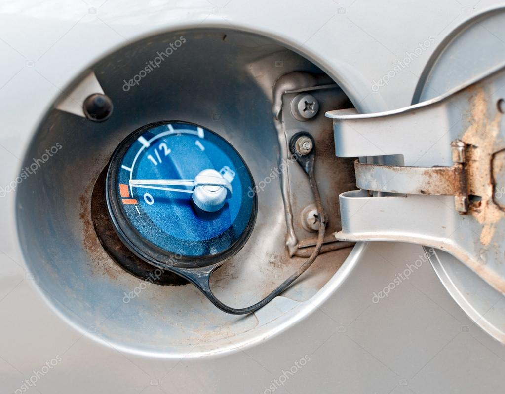 Fuel tank filler neck  Stock Photo #19431611
