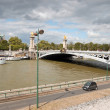 Bridge of Alexander III in Paris, France — Stock Photo #22366489