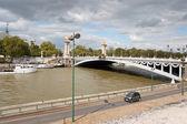 Bridge of Alexander III in Paris, France — Stock Photo