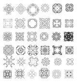 Ornaments elements — Vector de stock