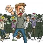 Постер, плакат: Found a survivor of the Zombie Apocalypse