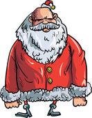 Cartoon evil Santa — Stock Vector